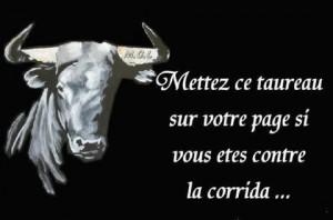 Mettez ce taureau sur votre page... dans Blablabla contre-la-corrida-300x198